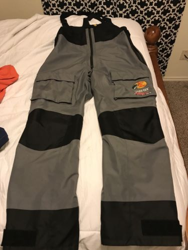 Bass Pro 100 MPH Gore-Tex XLT Bibs. Gently Used As Back Up Bibs.