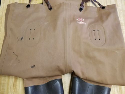 Red Ball Insulated Chest Waders size 11