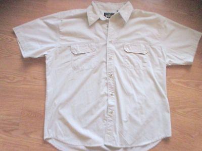 RedHead Short Sleeve Fishing Hiking Shirt Being Size XL