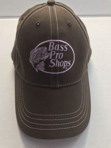 NWOT Bass Pro Shop Womens Brown & Pink Hat