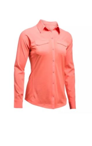 Under Armour Women's HeatGear  Tide Chaser HybridLS Shirt Sz2XL NEW1290541 - 404