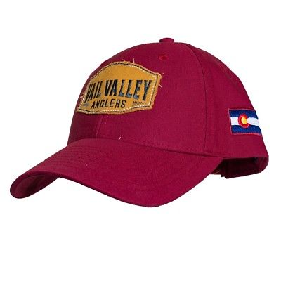Vail Valley Anglers Industrial Canvas Fly Fishing Cap