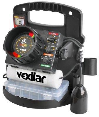 NEW Vexilar FL-18 Pro Pack II 12Deg Ice-Ducer Combo w/DD-100 PP1812D