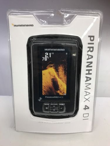 Hummingbird  Piranhamax 4 DI Fishfinder New In Box 10082-1