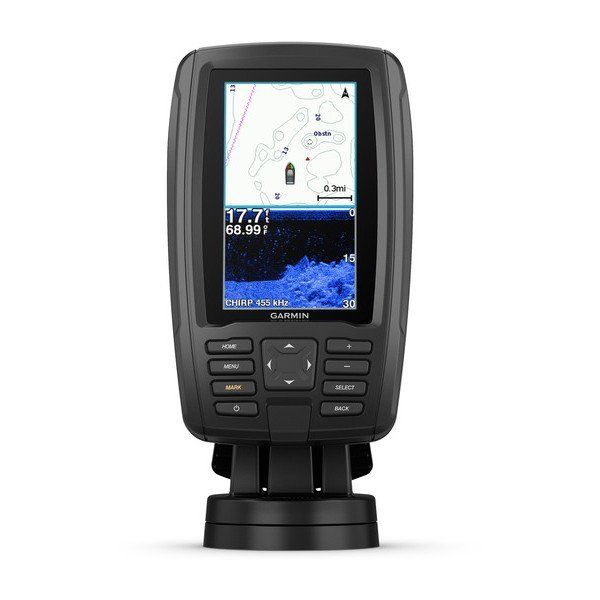 Garmin echoMAP PLUS Marine GPS 44cv with US BlueChart g2 and Transducer