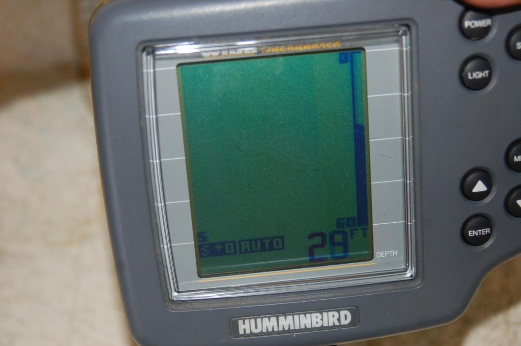 Humminbird wide 100 FishFinder