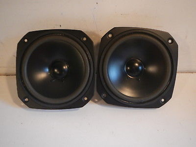 Pair of Cerwin Vega Mid Range Speakers (#KQZ) #PM7  small blemish in the foam