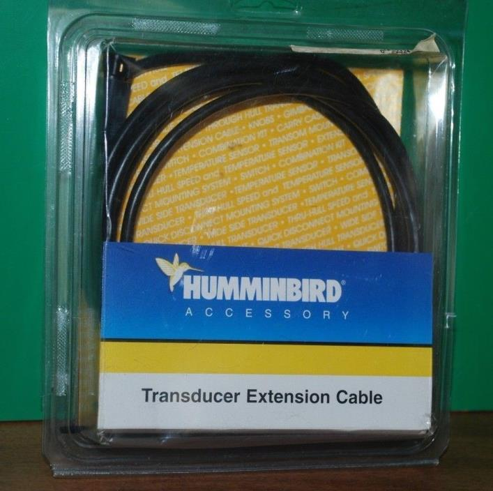 Humminbird EC-W10 10 ft Transducer Extension Cable - Extends Up to 50 Feet