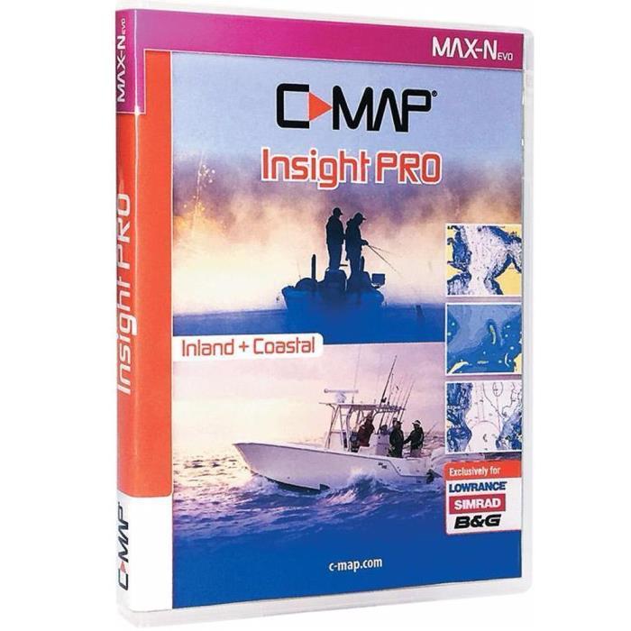 LOWRANCE C-MAP Lake Insight Pro Map Card /000-13732-001 FREE SHIPPING!!!