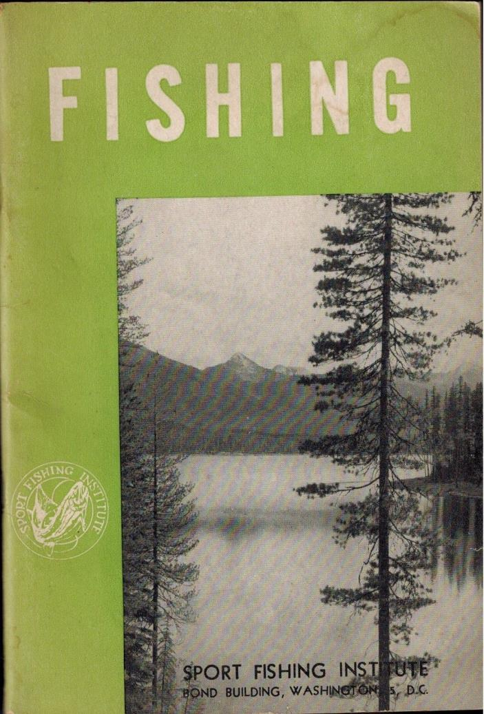 1954 BSA Boy Scouts of America FISHING Manual, Sport Fishermen Rods Reels Tackle