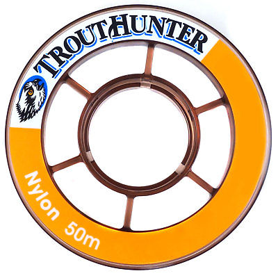 TroutHunter Nylon Double Coated Fly Fishing Tippet - All Sizes