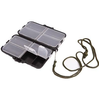 9 Compartments Storage Accessories Box Fly Fishing Lure Spoon Hook Bait Fishing