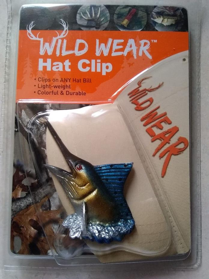HAT CLIP MARLIN WILD WEAR HAT CLIP MARLIN