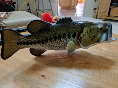 Large Mouth Bass wall mount - one side