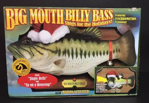 Big Mouth Billy Bass Holiday Edition