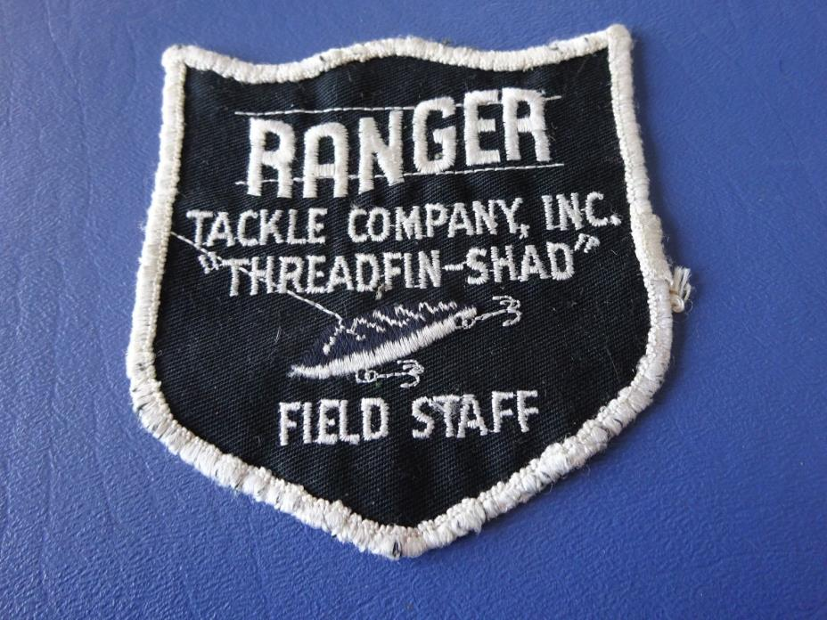 Vintage Ranger Tackle Company Field Staff Cloth Patch