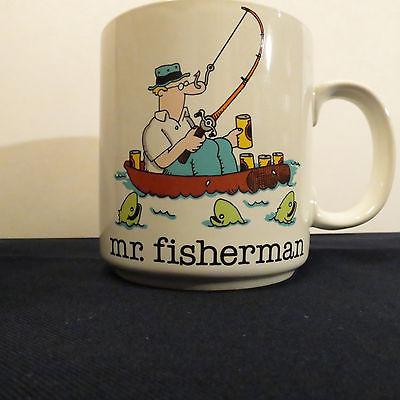 1 COFFEE MUG PAPEL TIM BENTON FISHERMAN DAD FISHING BOAT FATHERS FUNNY COMEDY
