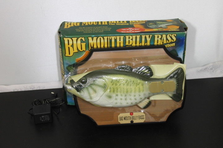 Big Mouth Billy Bass - The Singing Sensation New (Other) - 1998 Gemmy