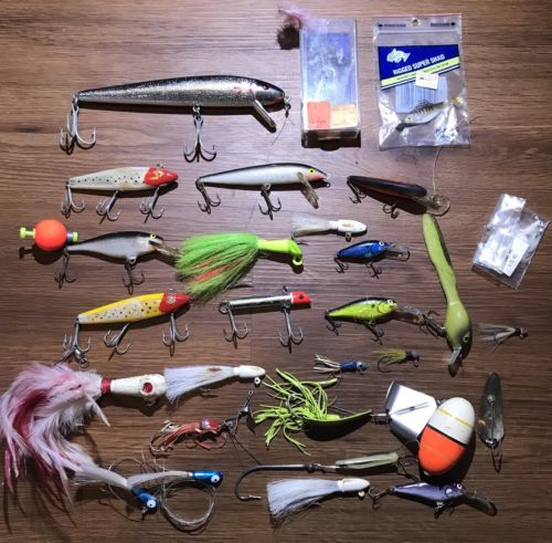 Lot of Vintage Fishing Lures