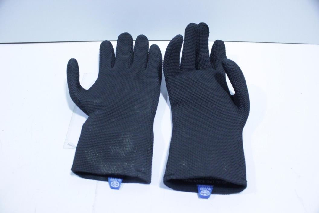 Glacier Glove ICE BAY Fishing Glove, Black, Small
