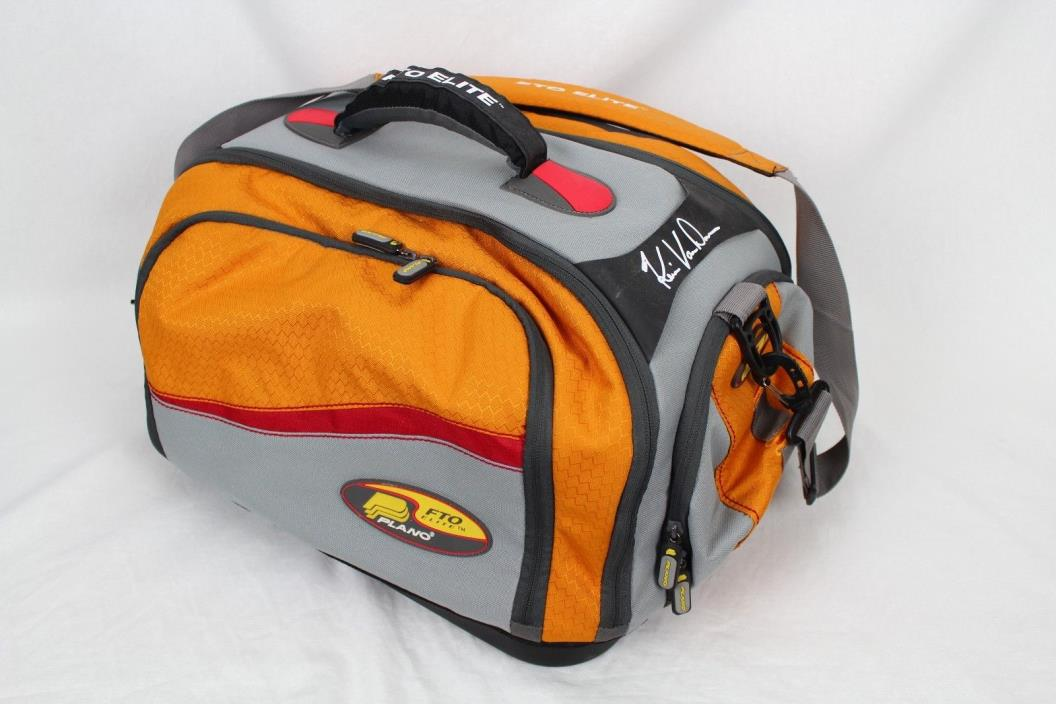 KEVIN VAN DAM FISHING TACKLE BAG SOFT SIDED FTO PLANO ELITE SERIES