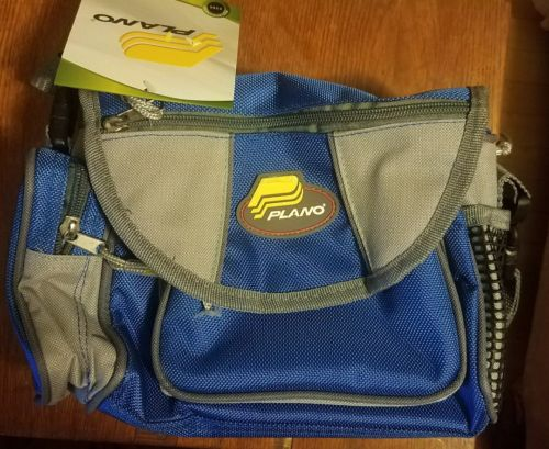 NEW PLANO 3380 SOFTSIDER FISHING TACKLE SYSTEM CANOE BAG/BOX AND 3500 ICE FISH