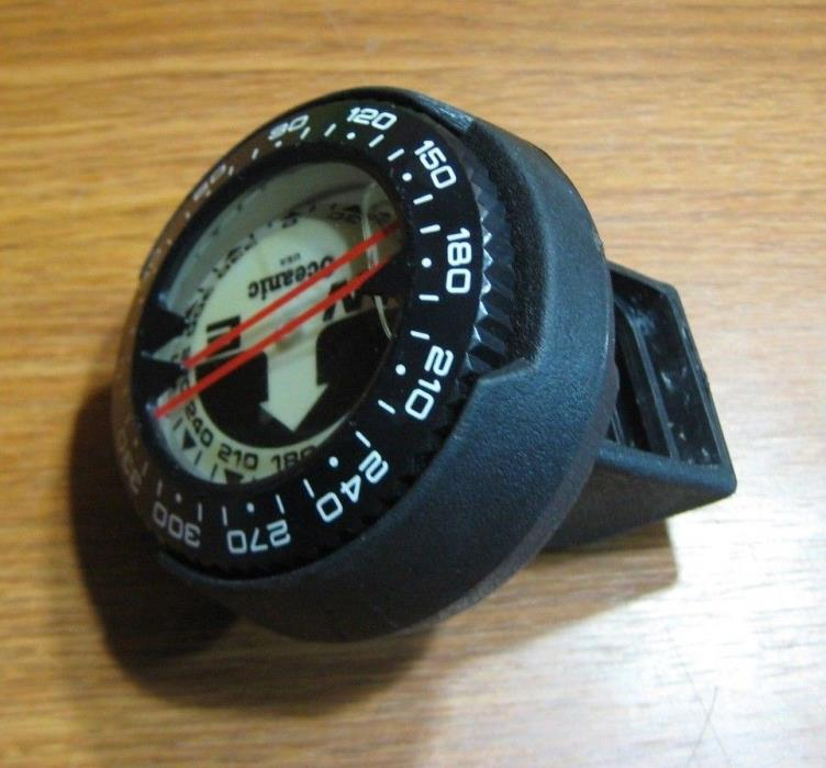 Oceanic Submersible Compass Puck Module Scuba Dive Diving for Console or hose