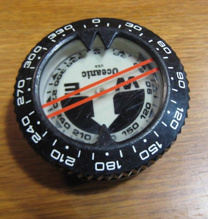 Oceanic Submersible Compass Puck Module Scuba Dive Diving