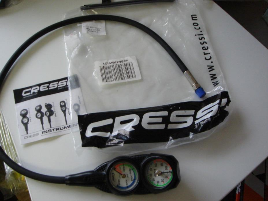 Cressi Mini 2 Console For PARTS..NEW, but needs new hose
