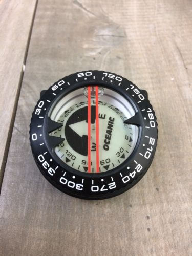 Oceanic compass with 1/4 inch bubble