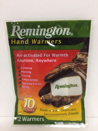 80 Pairs (1 Case) Remington Hand Warmers Hunting/Camping/Hiking FREE SHIPPING