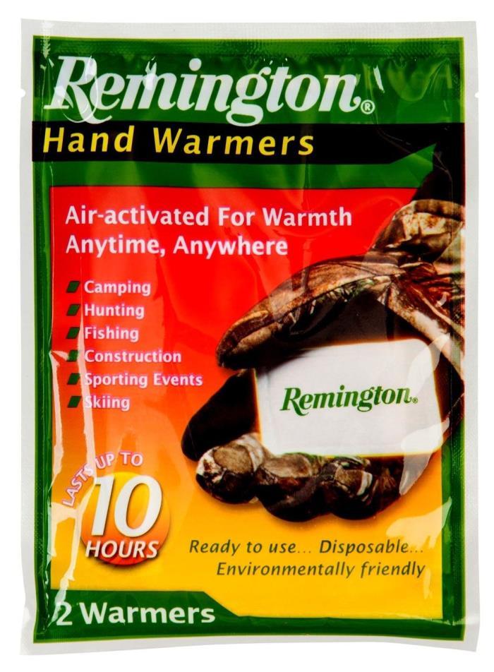 100 Pairs Remington Hand Warmers Hunting/Camping/Hiking FREE SHIPPING