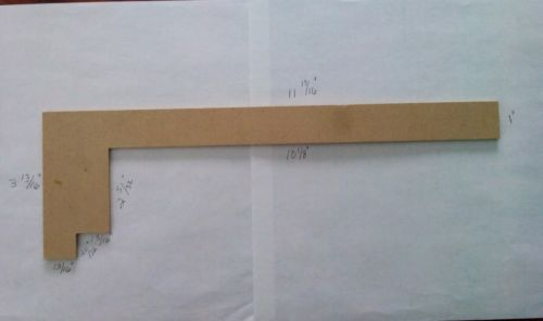 Pressed Board Staircase Building Centerline Measuring & Layout Tool 11 13/16