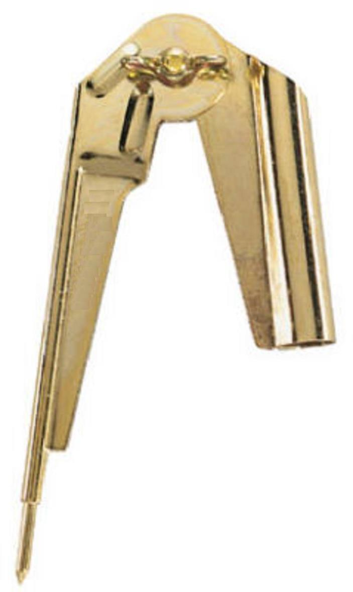 General Tools Brass Plated Steel Compass & Scriber 843/1