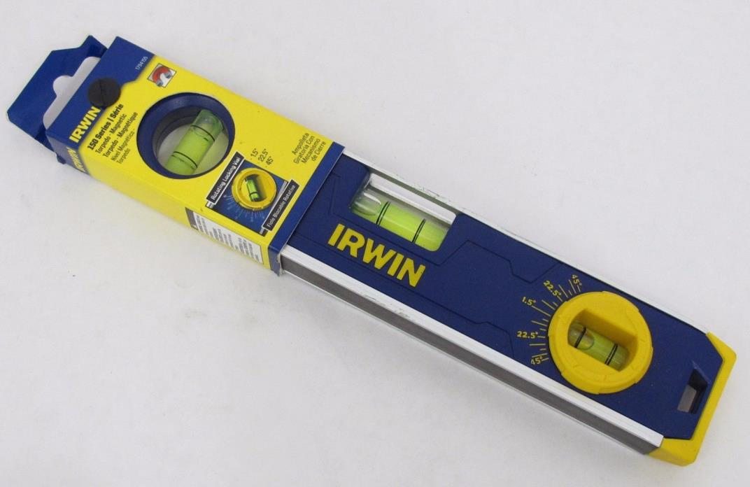 IRWIN Tools 150 Series Magnetic Torpedo Level  9-Inch 1794155 New
