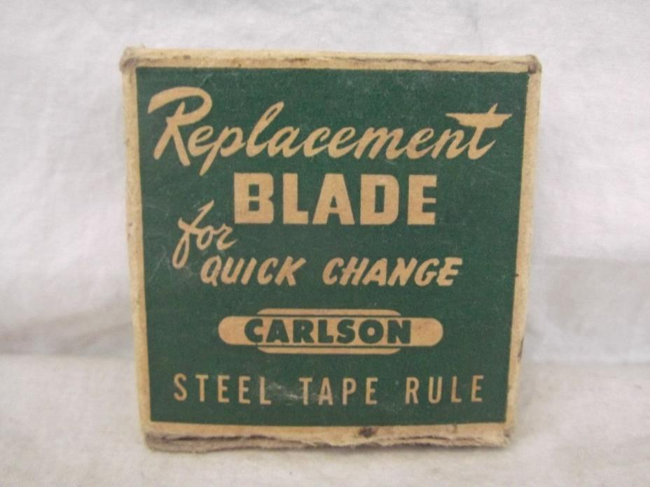 Carlson Measuring Tape Replacement Blade 6' FT feet model 6R Steel Tape Rule
