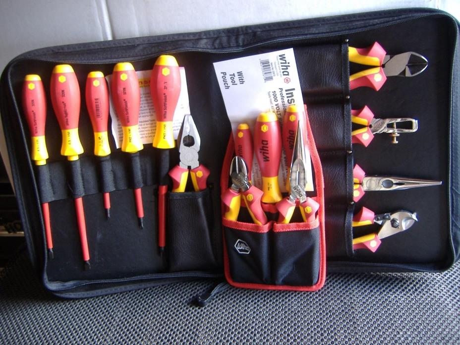 Wiha 32891 Insulated Pliers and Screwdrivers,  Wiha 32872 pouch