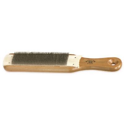 NICHOLSON-21467 File Card and Brush, 10 In.