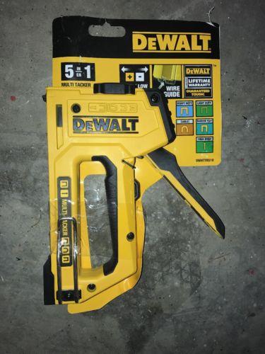 DEWALT- 5-in-1 Multi-Tacker.