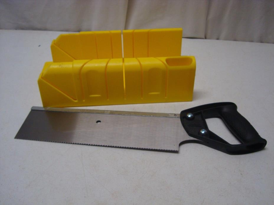Stanley Deluxe Miter Box with Saw
