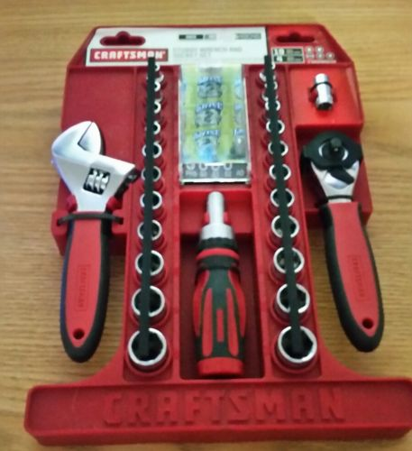 CRAFTSMAN STUBBY WRENCH AND SOCKET SET 49046