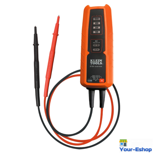 Klein Tools Voltage Tester AC DC Electronic Testers LED Battery Electrician Tool