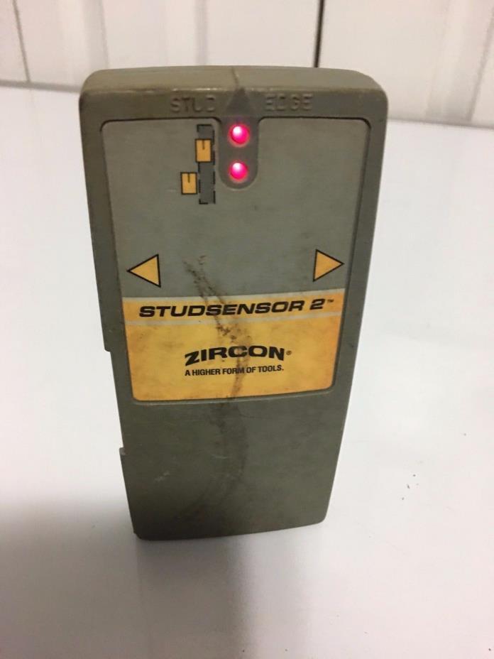 Used Zircon StudSensor2  Stud Finder Stud Sensor Calibrate, Search & Center Stud
