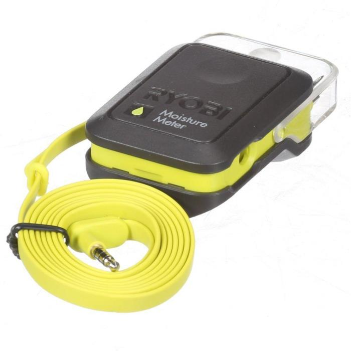 Ryobi Phone Works Moisture Meter ES3000 Works with iPhone/ Android