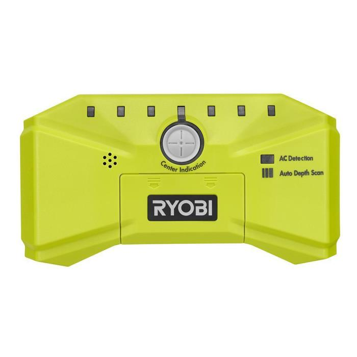 Ryobi ESF5000 Whole Stud Detector with Auto Depth Scan AC Detection Stud Finder