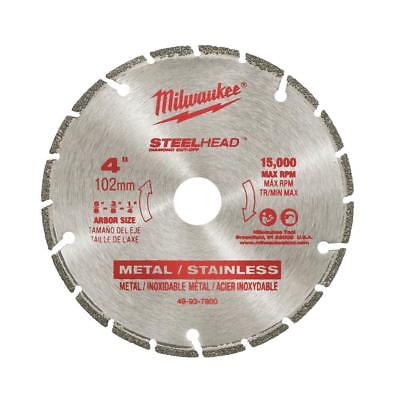 MILWAUKEE-49-93-7800 4 In. STEELHEAD Diamond Cut-Off Blade