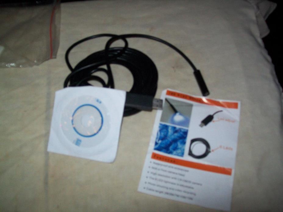 USB Waterproof wire Endoscope-7MM Wire WANERA