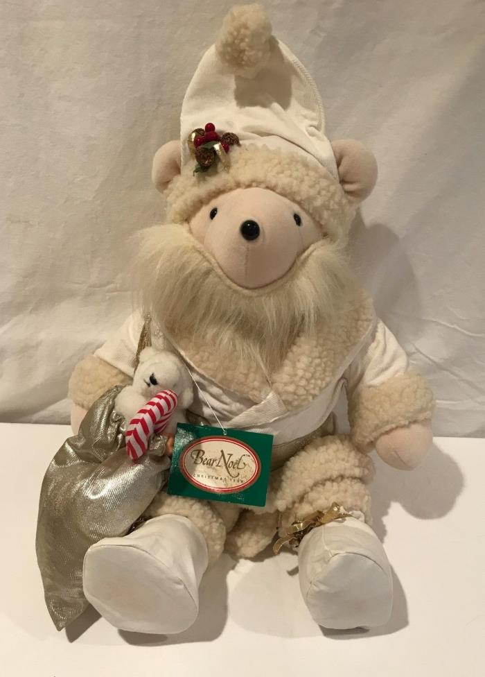 North American Bear Company Limited Edition Christmas Bear Noel