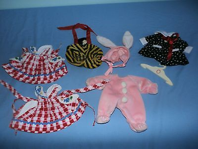 Muffy VanderBear Clothing 7 PC Lot Bunny Costume Back To School Dress 1990s