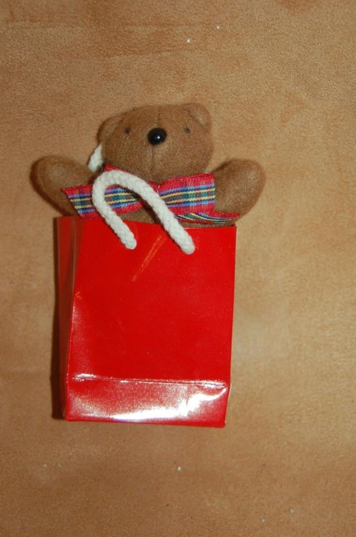 Muffy's Teddy Bear and Bag - NABC 1990